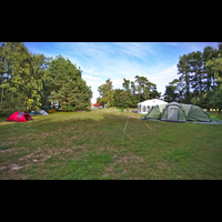 The family area at BornHack 2016